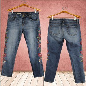 Kut from the Kloth Embroidered Jeans Size 6P